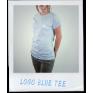 LOGO BLUE TEE FEMALE