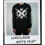 LOGO LONGSLEEVE WHITE PRINT