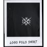 LOGO POLO SHIRT BLACK