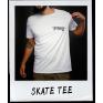 SKATE TEE WHITE